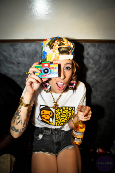t-shirt shirt color hat lil debbie
