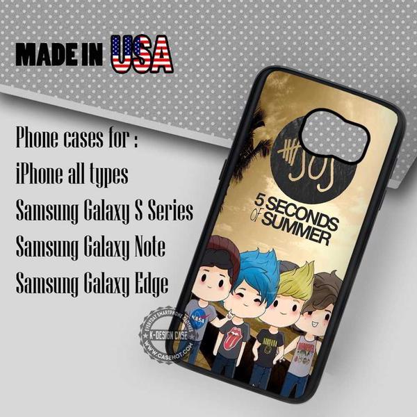 Samsung S7 Case - Cute Chibi - iPhone Case #SamsungS7Case #5SecondsOfSummer #yn