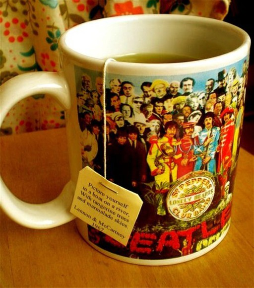 jewels rock beatles mug tea teatime 60