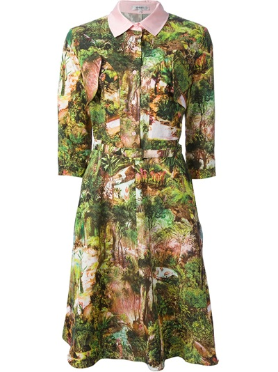 Carven Tropical Poplin Dress - Voo - Farfetch.com