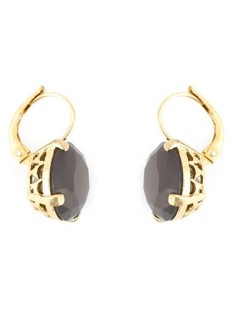 Wouters & Hendrix women earrings silver purple pink grey jewels