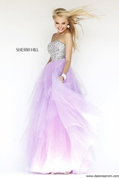dress,sherri hill sadie robertson dress style number 11085,light,sherri hill,purple dress,style,sexy dress,long prom dress