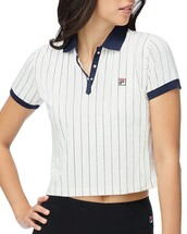 top,fila,polo shirt,clothes