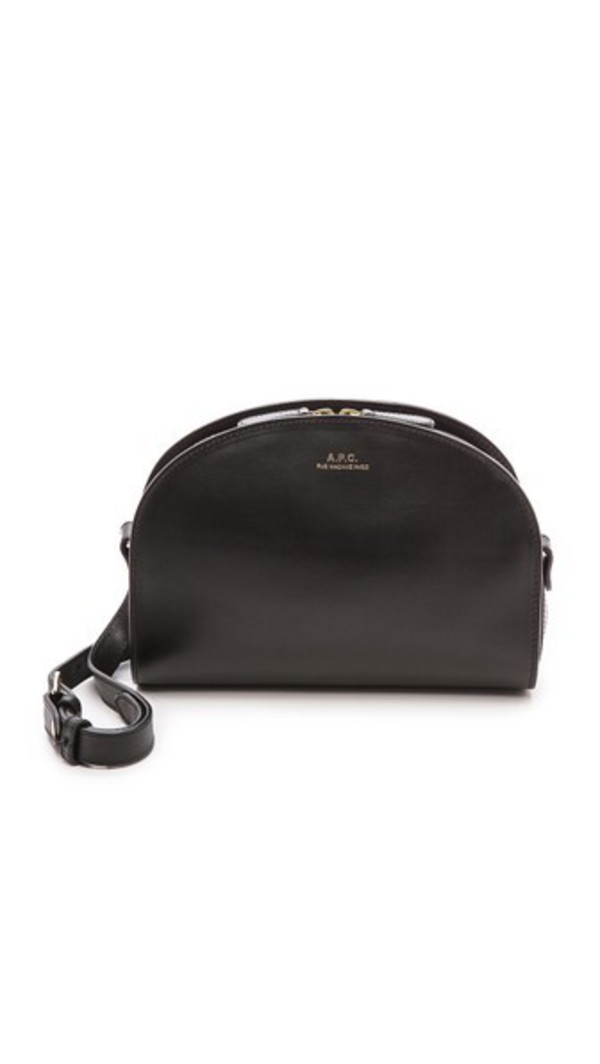 A.P.C. A.P.C. Half Moon Bag - Black