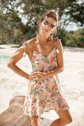 dress,floral dress,summer dress,resort wear,bikiniluxe