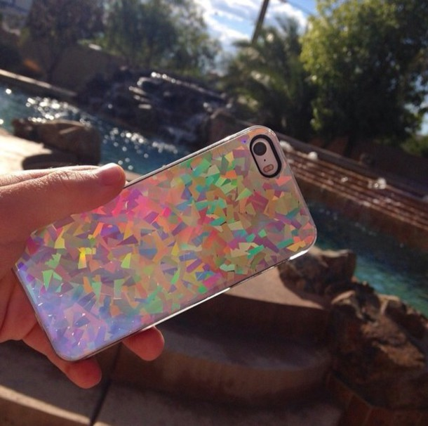 phone cover holographic clear holographic iphone case