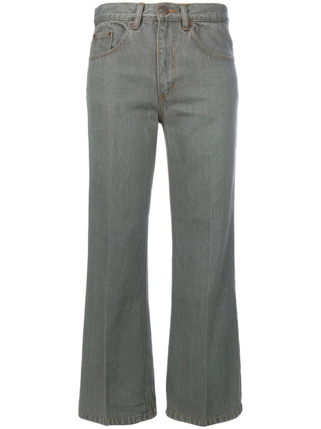 Marc Jacobs jeans cropped jeans cropped women cotton grey