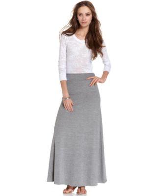 Bar III Maxi Skirt - Skirts - Women - Macy's
