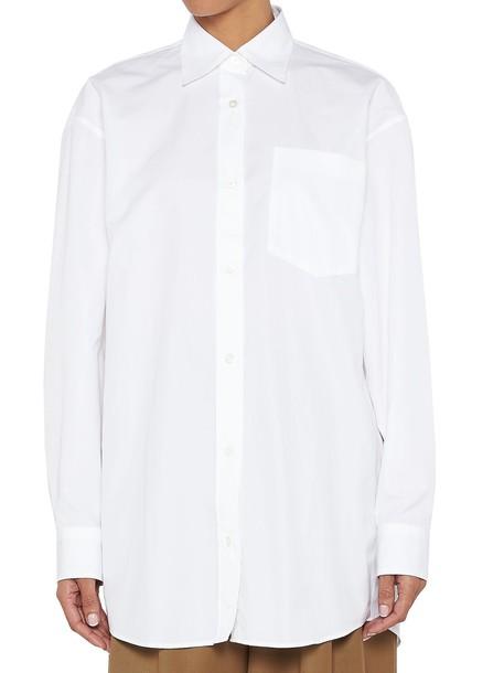 dries van noten shirt white top