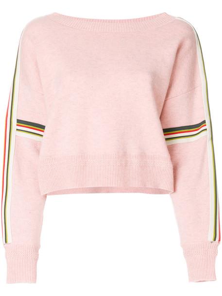 jumper women spandex cotton wool purple knit pink sweater