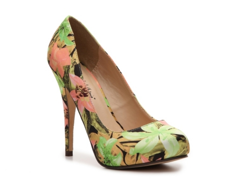 Michael Antonio Love Me Floral Pump  | DSW