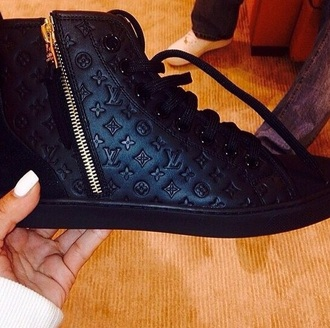 shoes high top sneakers sneakers black black boots black heels cute shoes cute sexy shoes sexy fashion style trendy winter outfits swag