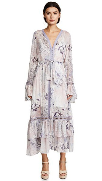 We Are Kindred shirtdress lilac dress