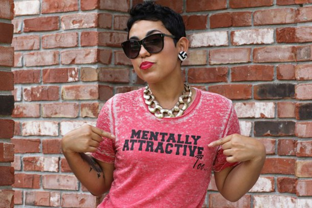 t-shirt mentally attractive