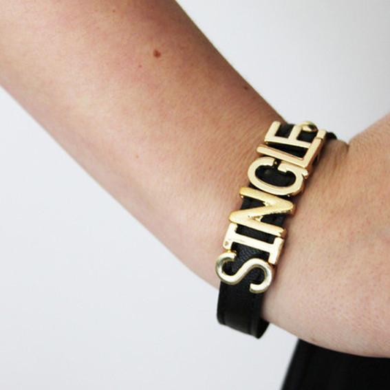 Young free & single bracelet – sirenlondon