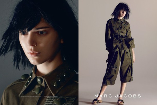 jacket kendall jenner marc jacobs 2015 campaign