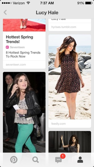 dress hollister floral floral dress skater dress flowers lucy hale pretty little liars multicolor