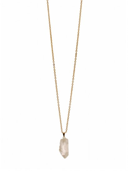 Zoya Vintage Raw Crystal Necklace - Rock 'N Rose from ROCK 'N ROSE UK