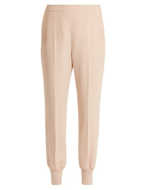 Stella McCartney nude pants