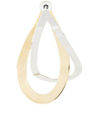 earrings silver gold