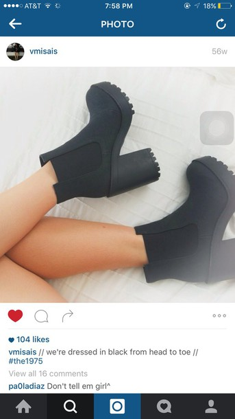 shoes, boots, black boots, forever 21