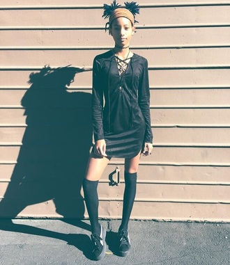 dress black dress willow smith