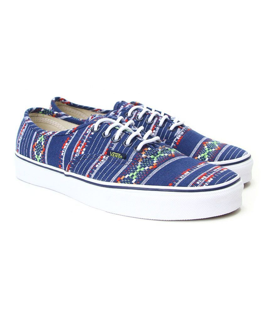 Vans Unisex Authentic Guate Stripe Sneakers | eBay