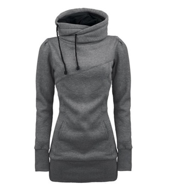 top hoodie hoodie coat long sleeve dress long sleeves lovely dress jumper lovely pepa gray hoodie gray t-shirts