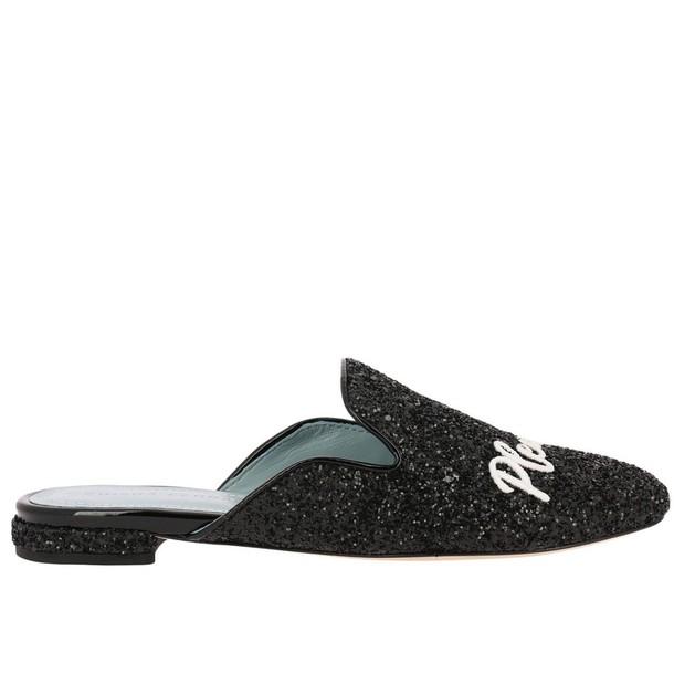 Chiara Ferragni ballet women flats shoes ballet flats black