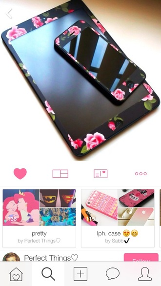 phone cover floral case