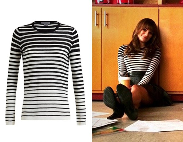 top sweater glee lea michele