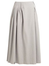 skirt,maxi skirt,maxi,cotton,light,blue,light blue