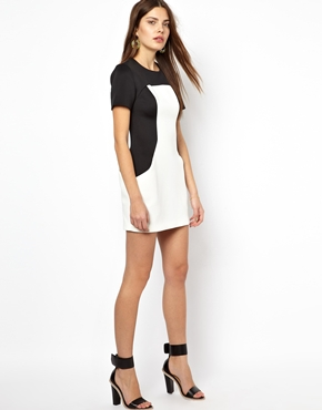 Finders Keepers | Finders Keepers Monochrome Overtime Dress at ASOS