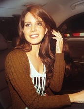 cardigan,lana del rey,brown cardigan,cable knit,brown