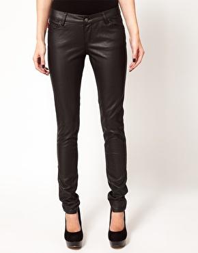 Tripp NYC | Tripp Nyc Leather Look Skinnies at ASOS