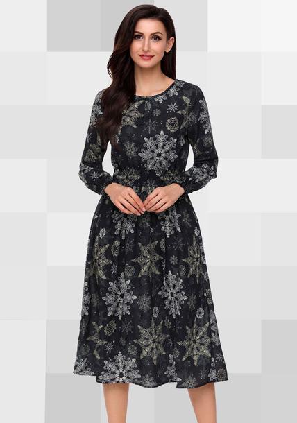 dress fashion dress chiffon dress long dress black dress