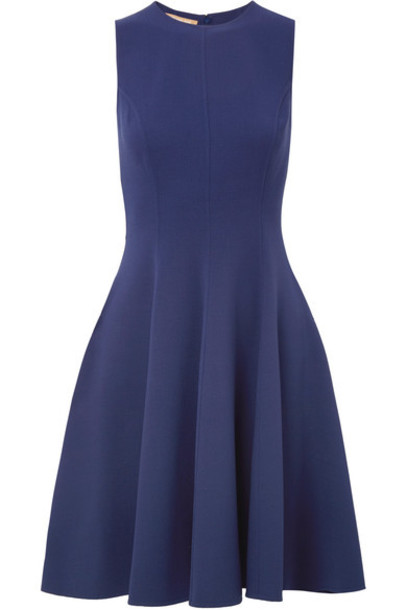 Michael Kors Collection dress navy wool