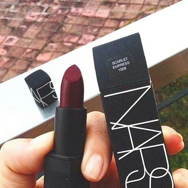 make-up nars cosmetics lipstick