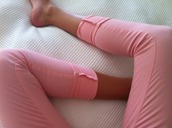 pants,pink,pretty,jeans,colored jeans,color jeans,color pants,peach pants,peach jeans