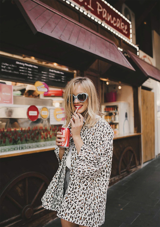 sunglasses heart sunglasses spring outfits leopard print coca cola