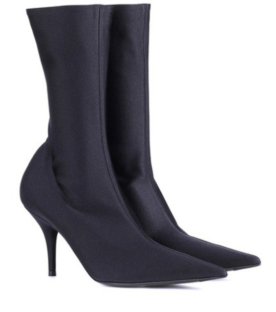 Balenciaga ankle boots black shoes