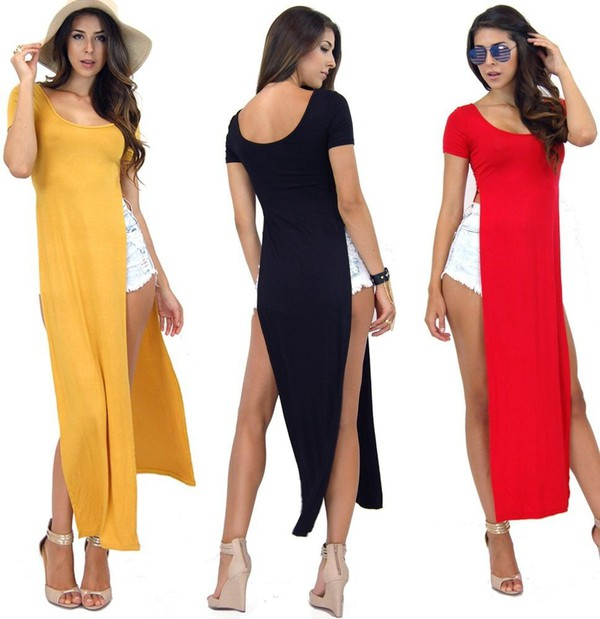 maxi dress side split maxi dress shirt maxi dress with slits