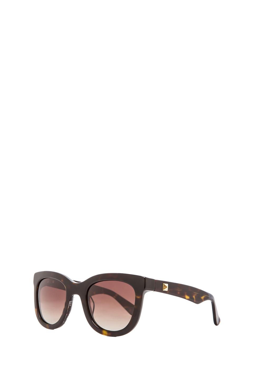ANINE BING New York Sunglasses in Tortoise Shell from REVOLVEclothing.com