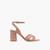 Nude High Heel Sandals In Nude