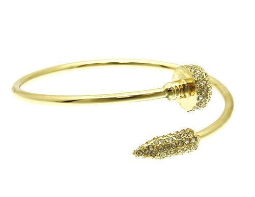 Nail Bangle Bracelet