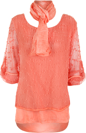 coral,clothes,accessories,shirt,top,default category,casual tops