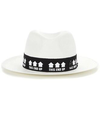 fedora white hat