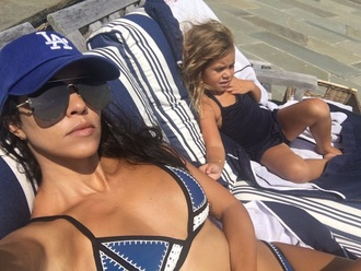 swimwear kourtney kardashian