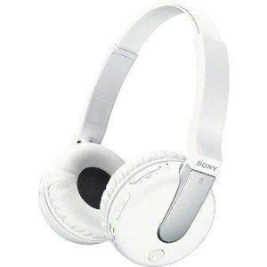Amazon.com: sony over the ear sound isolating enhanced bass wireless bluetooth headphones (white): electronics