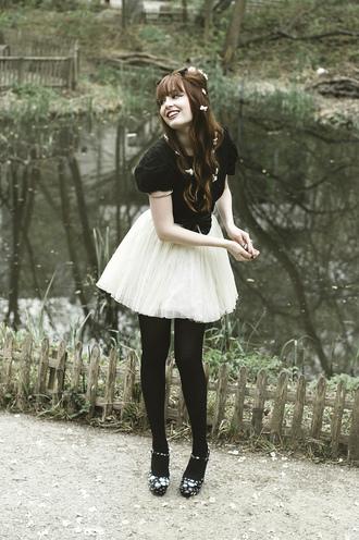 louise pandora vintage tutu white skirt miss pandora louise ebel skirt